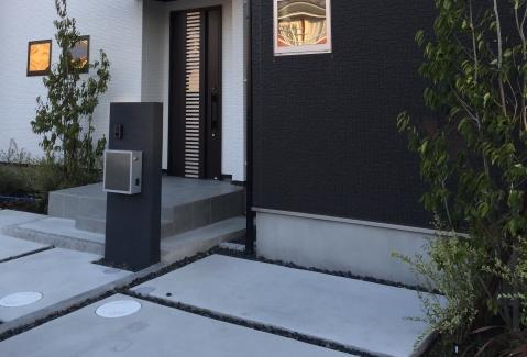 玄関アプローチのリフォーム