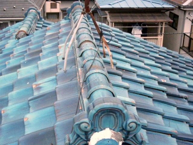 築35年。瓦の重みで地震が心配、と屋根リフォームした事例