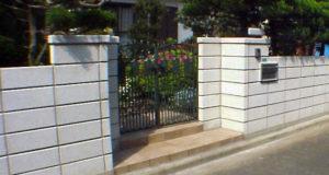 ブロック塀をリフォーム