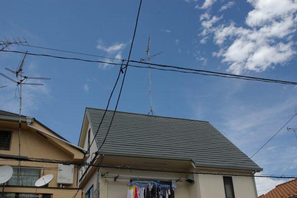 屋根塗装で屋根裏の温度が2度下がります