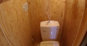 3階のトイレ完成