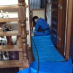 床下調査とシロアリ予防工事をした事例