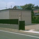 家屋解体・整地してシャッター付きガレージを作った事例【完結編】