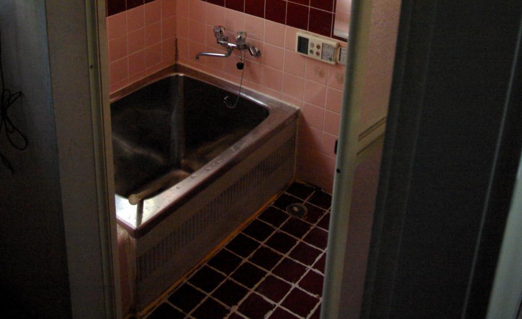 気密性が高いユニットバスにタイルのお風呂が生まれかわった