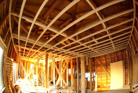 古家屋付き土地に新築する予定を変更 スケルトンリフォームして正解!