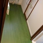 無垢材床を東リ テラウッドでモダンにリフォーム