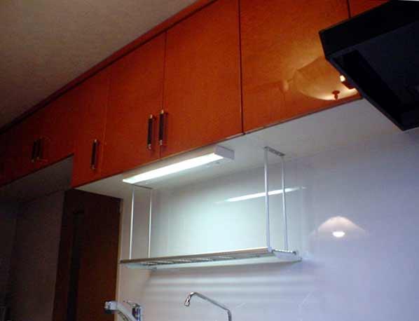 Ⅰ型の在来キッチンをサンウェーブシステムキッチンに取り替え
