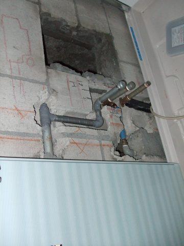 タイル張りの浴室から最新のユニットバスへ