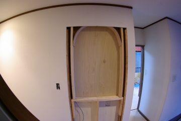 一戸建てを全面改装2 玄関周辺のリフォーム