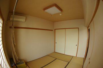 リビング隣の和室を洋室にリフォーム、広いリビングを手に入れます