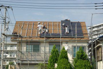 太陽光発電パネルを後付け エコ生活を始めます!
