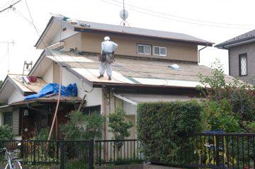 断熱リフォーム! 屋根の葺き替えと天井裏断熱をダブルで施工