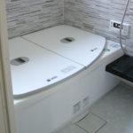 タイル張りのお風呂を解体してTOTOのユニットバス・サザナにリフォーム