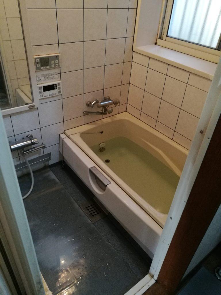 24時間風呂対応のユニットバスへリフォーム!