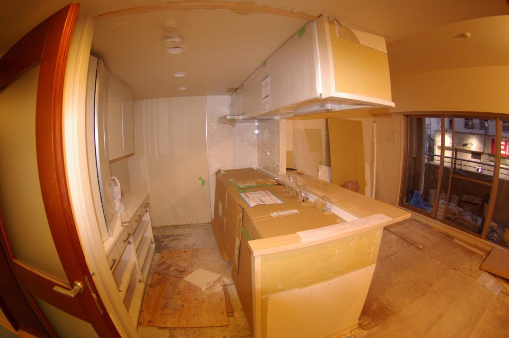 マンションの全体改装でキッチンを総入れ替え!TOTOクラッソを導入します