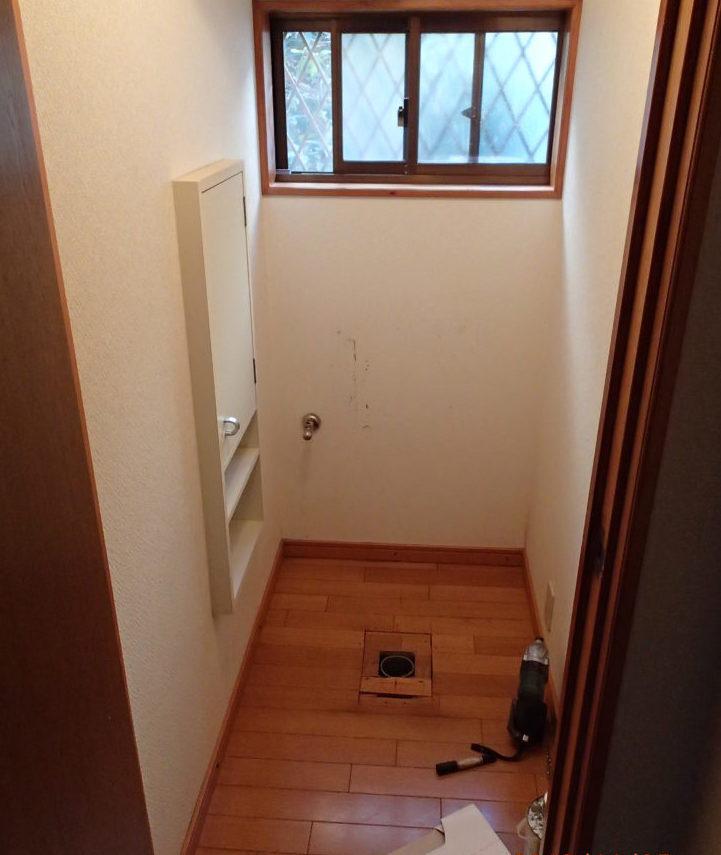 トイレをTOTOレストパルにリフォーム 収納力UPで快適空間に