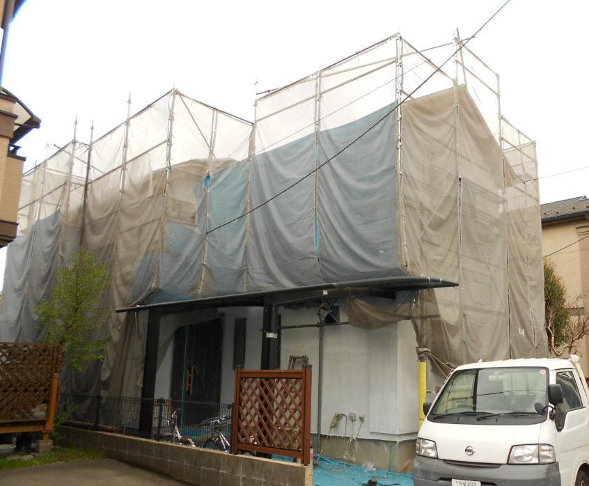 オークリッジプロに葺き替え 地震に強い家に
