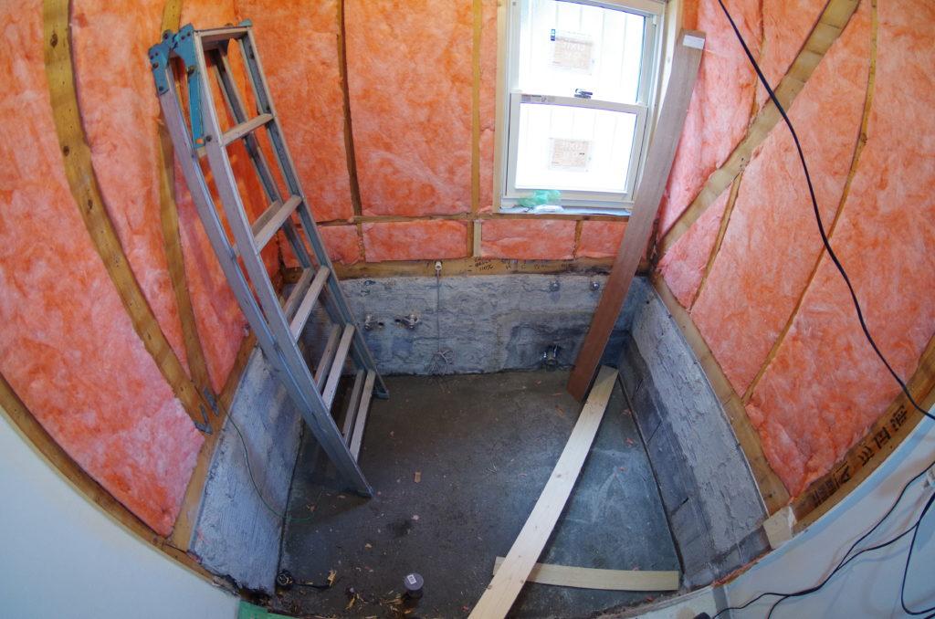 断熱リフォームを念頭においた浴室の入れ替え事例