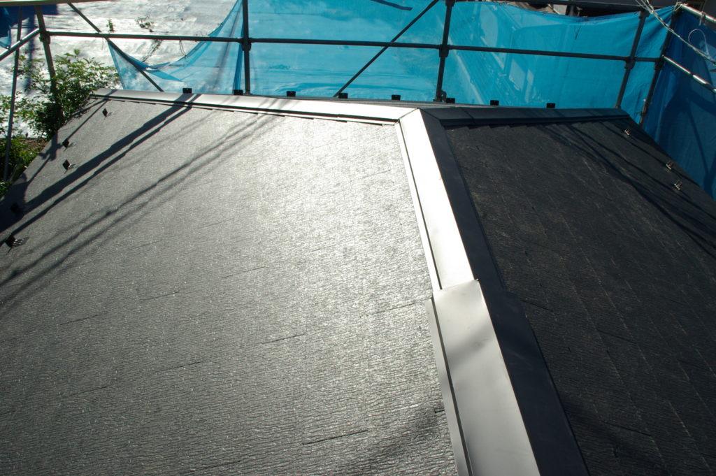 増築に伴う屋根の形変更と断熱工事