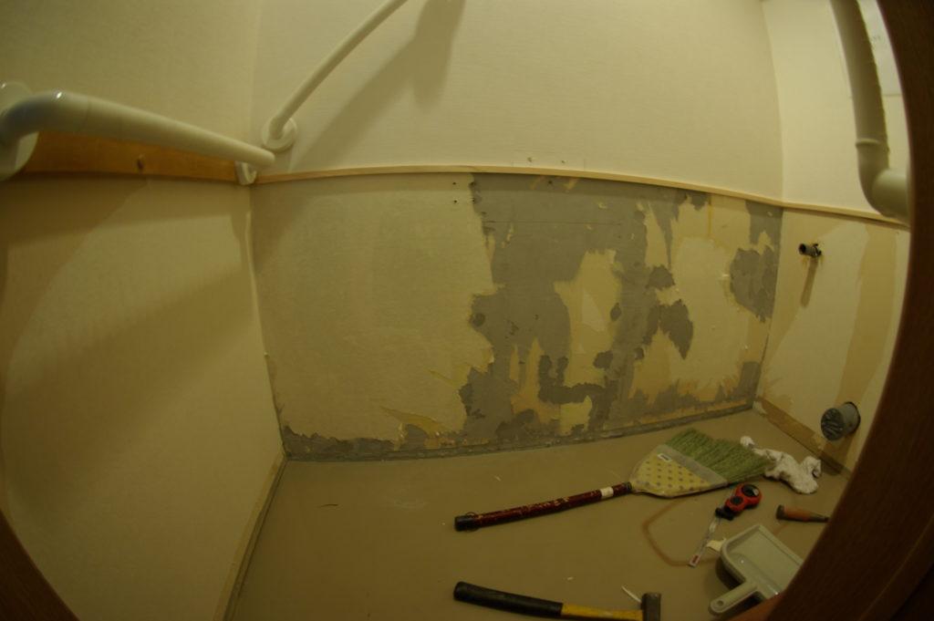 マンションの一室にあるテナントのトイレ改修事例