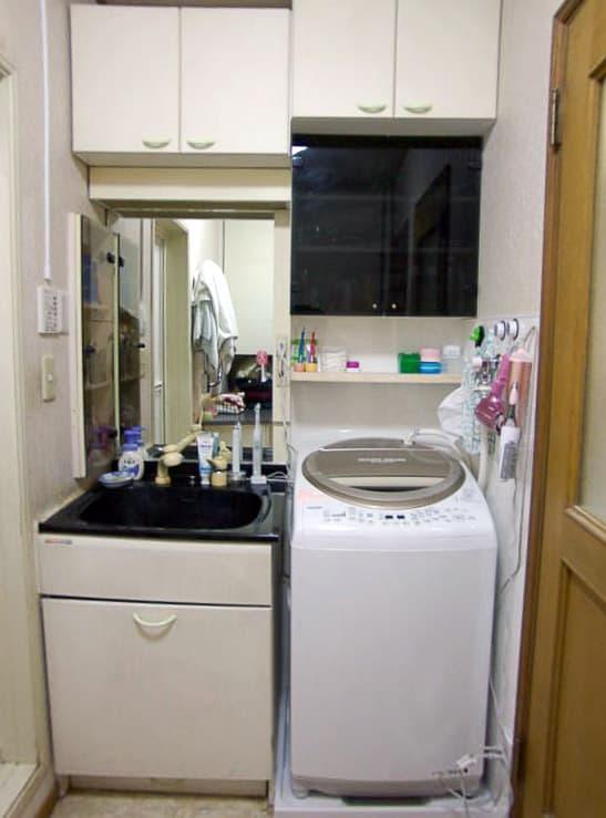 マルバー社製の洗濯機を国産洗濯機へリフォーム