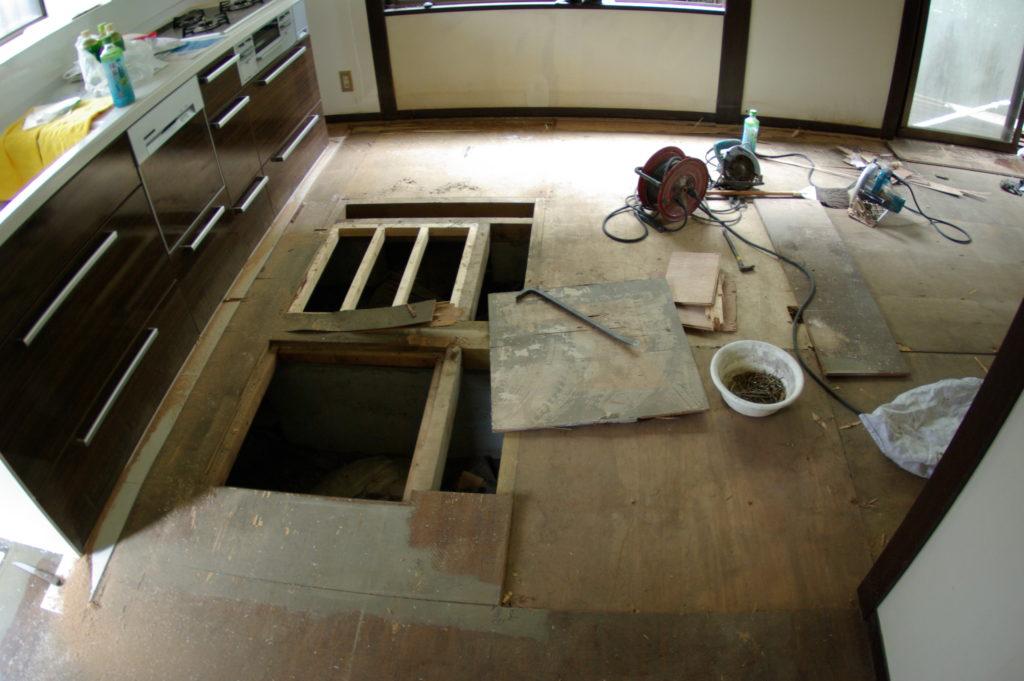 中古住宅を私流にアレンジ! 無垢のフローリングで体にやさしい家づくり