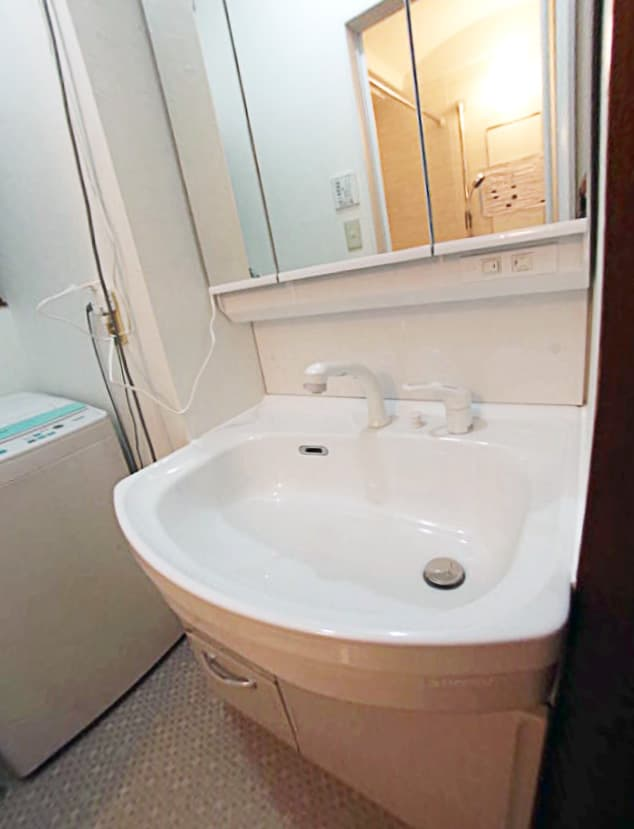 洗面化粧台をタカラ・オンディーヌにリフォーム