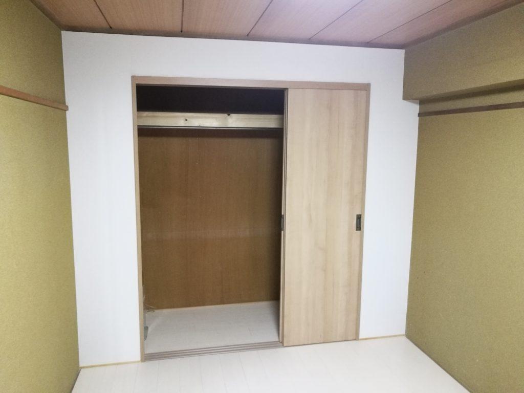 六畳和室を洋室へリフォーム
