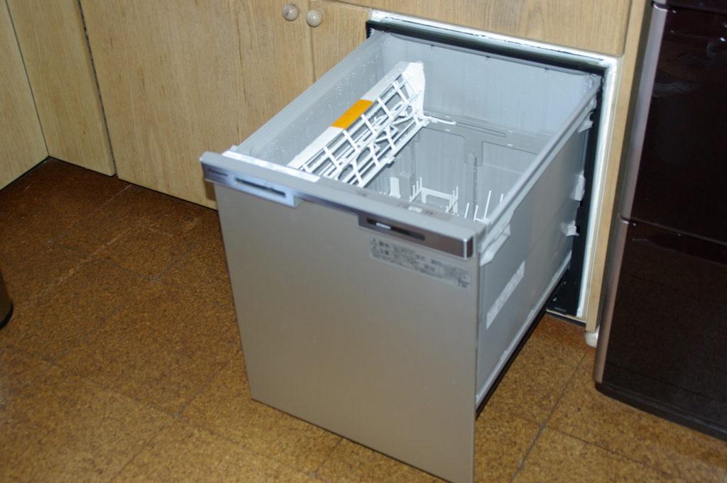 ビルトイン食器洗浄機を後付けした事例