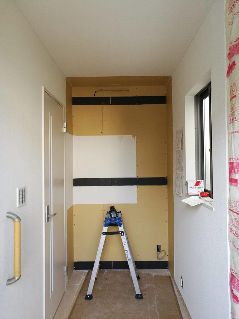 新築戸建て入居前リフォーム:生活の実態に合った収納に