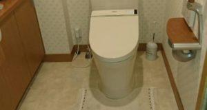 2階のトイレをTOTOピュアレストQRにリフォーム