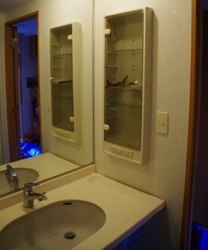 【バリアフリー工事】昇降式の洗面台にリフォーム