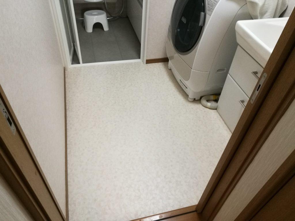 庭を使って浴室を増築 居住スペースを広くします【内装工事編】