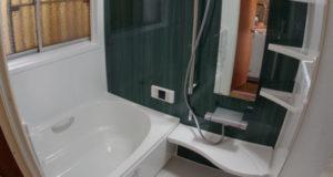 中古住宅の全面改装の一環で浴室リフォーム