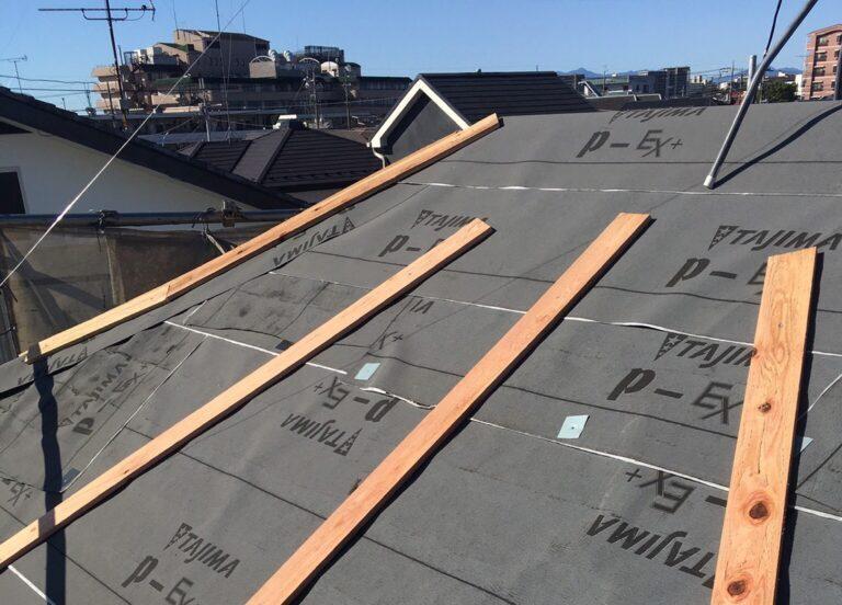 スレート屋根からアスファルトシングルへ葺き替え