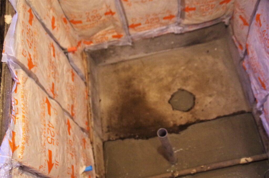 在来工法の浴室をユニットバスにリフォーム