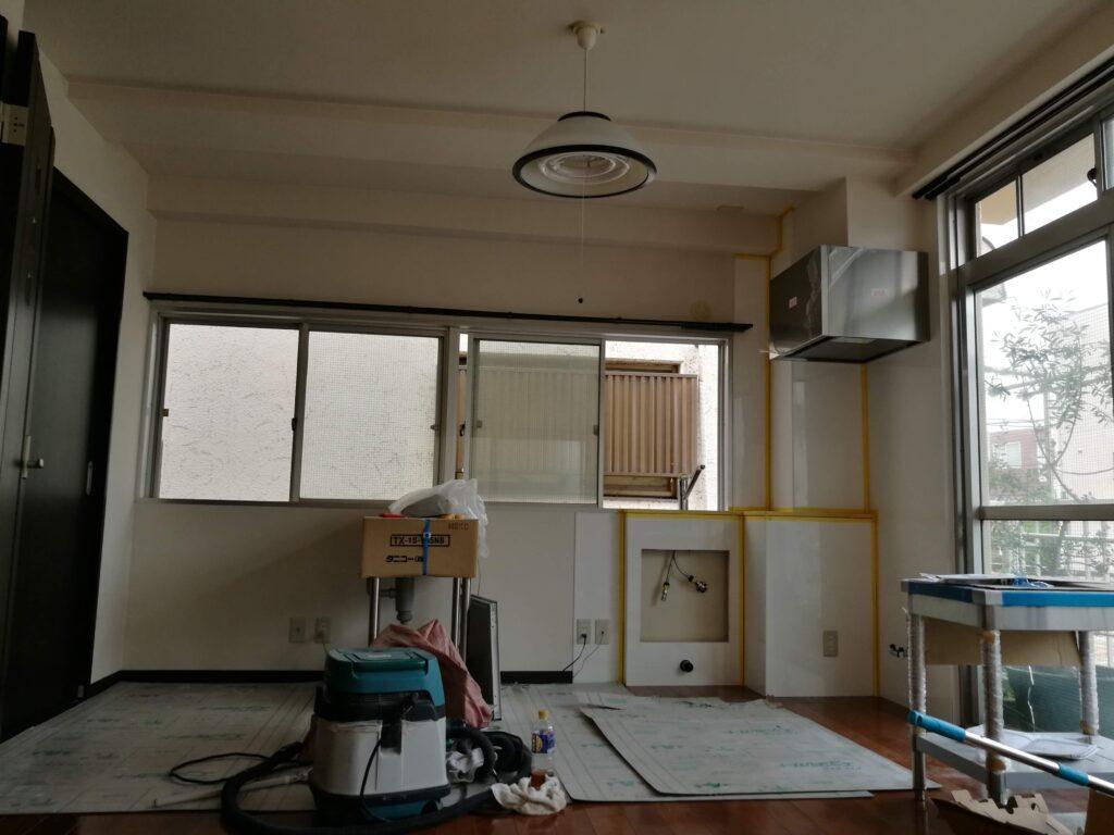 2階和室をキッチン付き洋室にリフォーム