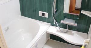 """<span class=""""title"""">タイル敷きの浴室をユニットバスにリフォーム</span>"""